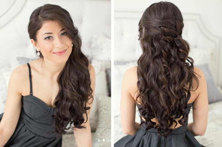 Prom Hairstyles Long Hair Down Sophie Hairstyles 45502