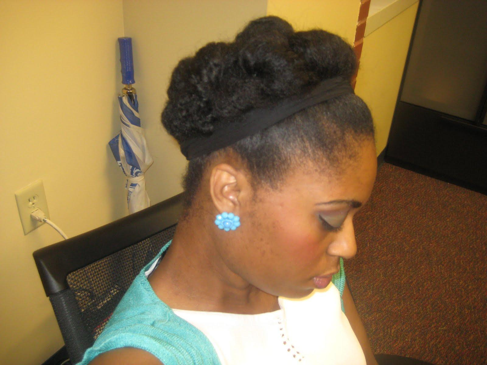 Protective Hairstyle Called Cinnabun