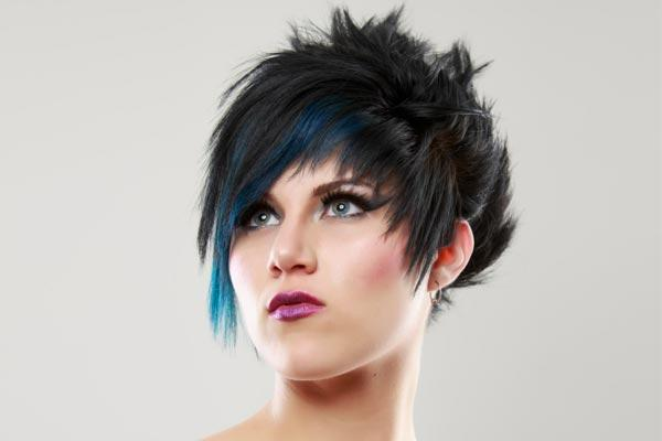 Punky Short Hairstyles