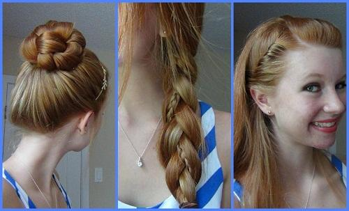 Quick Easy Cute Hairstyles For School Girls Newcute