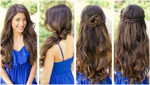 Quick Easy Updos For Long Hair Hairstyles
