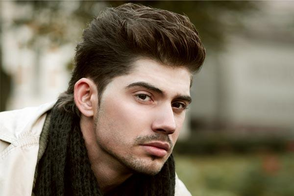 Quiff Medium Length Hairstyles For Men Wavy Hairs