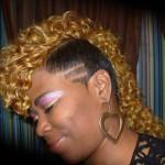 Raymona Hairstyles Weave Curly Mohawk Side