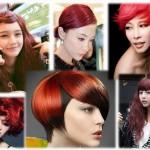Red Hair Color Chart Burgundy