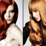 Red Hair Color Long Haircuts Nice For Women