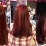 Red Hair Copper Highlights
