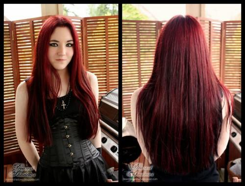 Red Hair Dye Experimentations