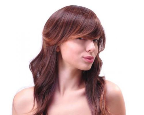 Red Upscale Hairstyle Ideas For Long Hair