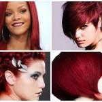 Red Wine Burgundy Hair Color