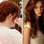 Reddish Brown Hair Color Auburn