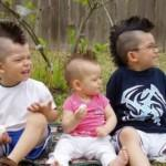 Ren Mohawk Hairstyles For Funky Baby Look