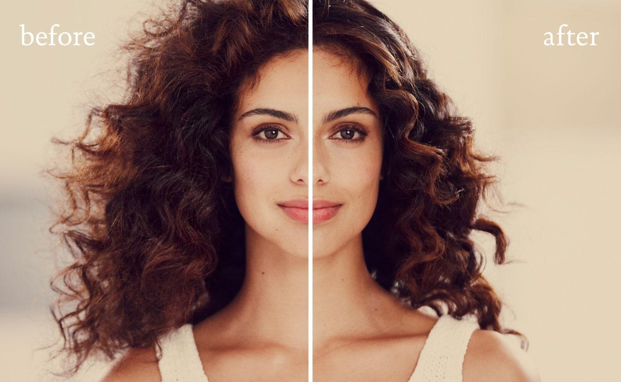 Retouching Just Living Proof
