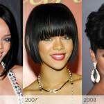 Rihanna Short Hairstyles Celebrity
