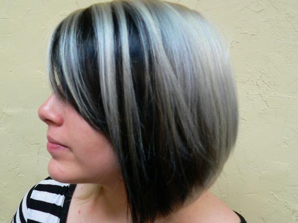 Rom Pattern Mixing Black Blonde Hair Can Look Great You
