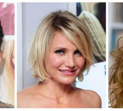 Round Face Shapes Hairstyles Short Bob For
