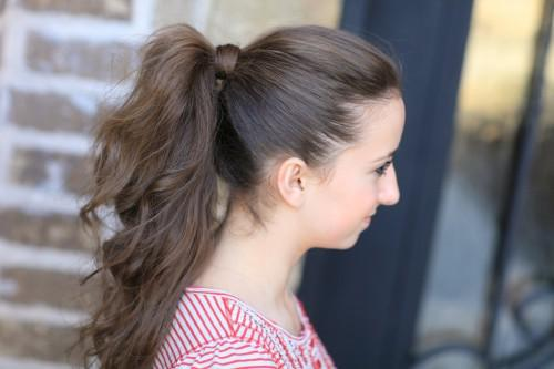 Second Perfect Ponytail Tip Shows You How Give