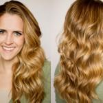 See Video Tutorial For Flat Iron Curls Here