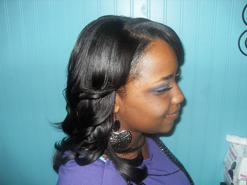 Sew Weave Side View