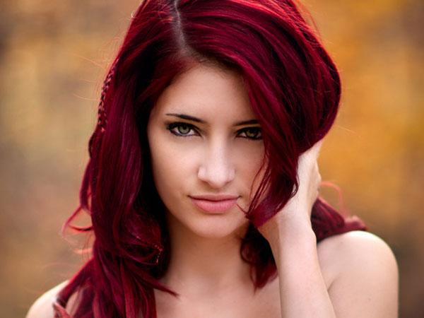 Shade Hair Color May Make You Think Glass Red Wine