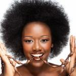 Shaped Set Afro Curls Hairstyle That Worth Being Proud
