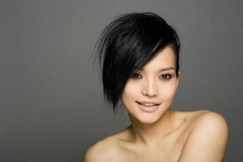 Short Asymmetrical Hairstyles Picture Size Posted