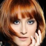 Short Bob Hairstyles Layers Bangs