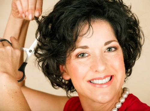 Short Curly Hairstyles For Women Over