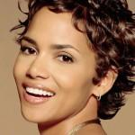 Short Curly Hairstyles Lady