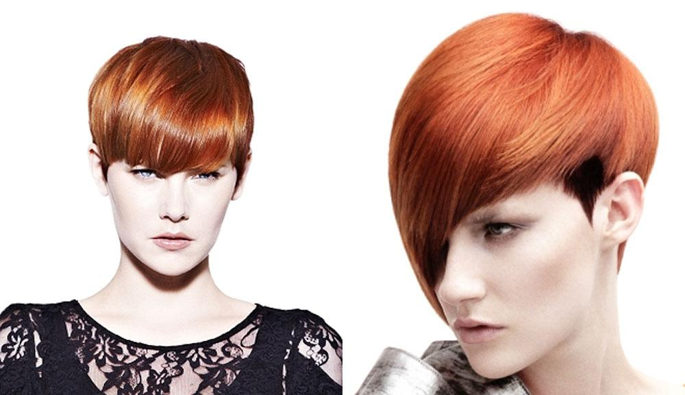 Short Hair Color Ideas Red