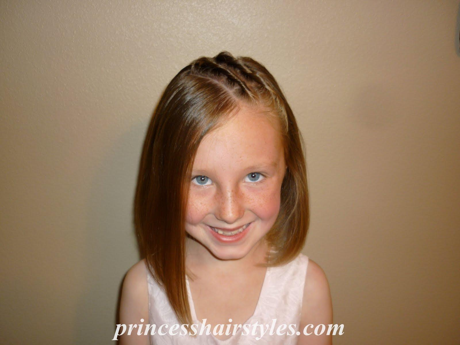 Short Hair Styles For Little Girls  Sophie Hairstyles - 12
