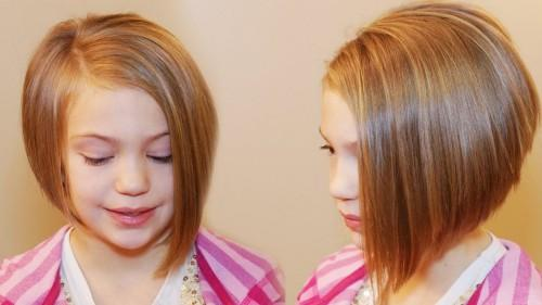 Short Haircuts For Little Girls Under
