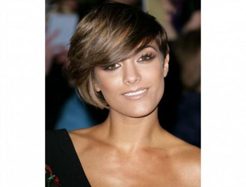 Short Hairstyles For Long Faces Thick Hair