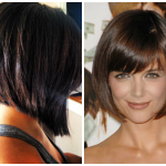 Short Inverted Bob Hairstyles Bangs Bobs Light