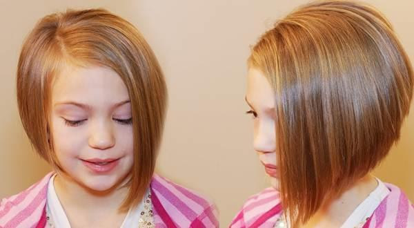 Short Layered Bob Good For Young Girls