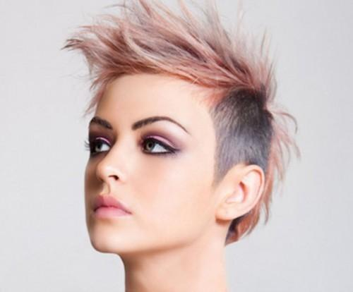 Short Punk Hairstyles For Women That Look Cool