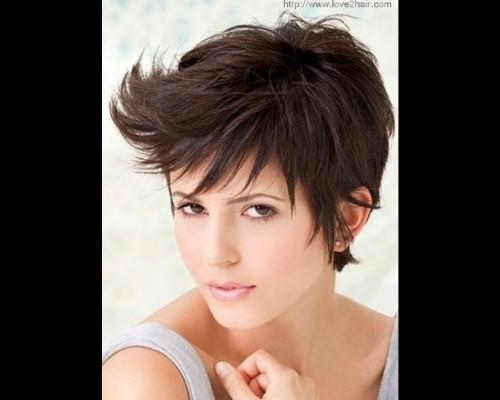 Short Spiky Hair Styles For Women Picture