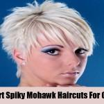 Short Spiky Mohawk Haircuts For Girls