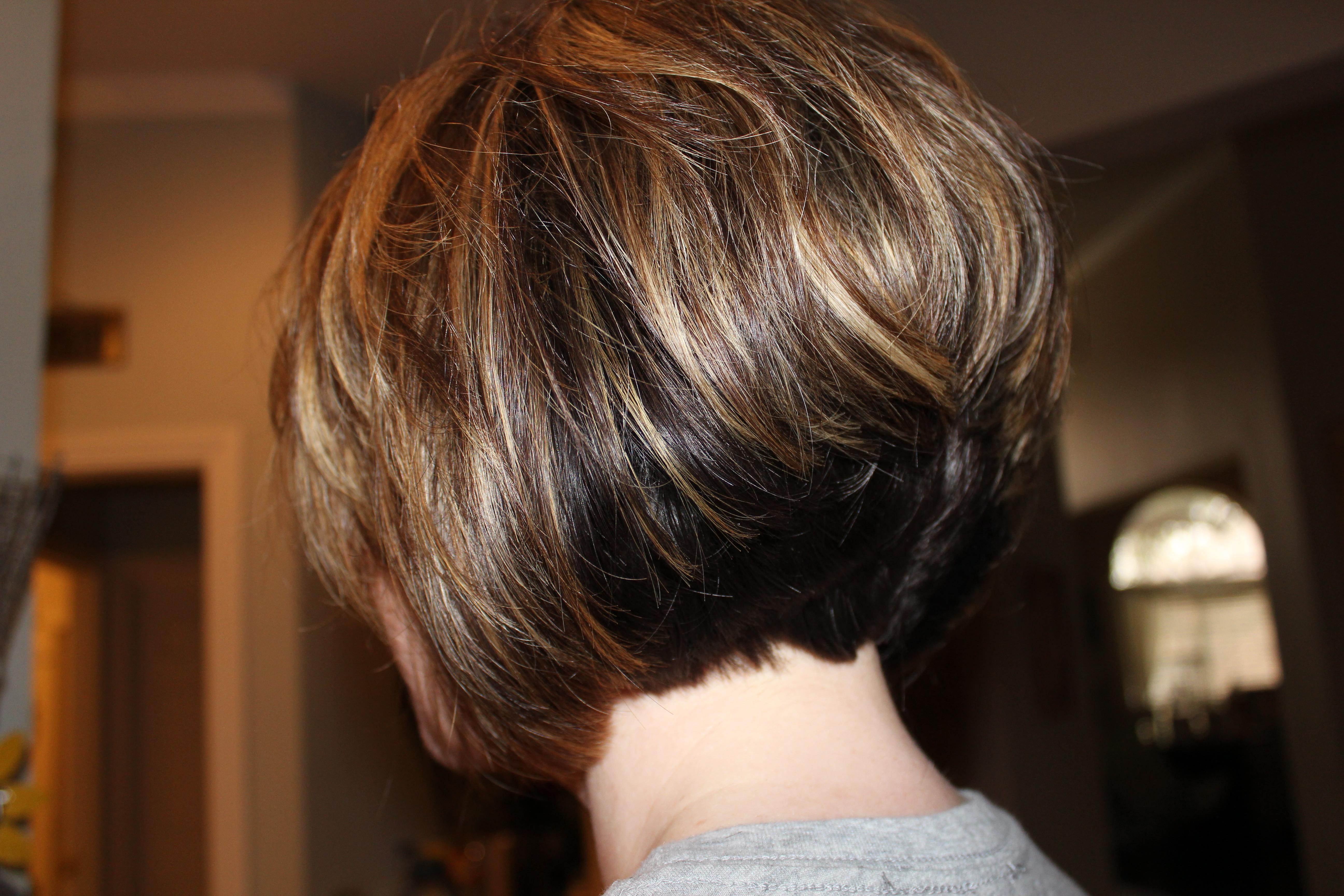 Short Stacked Haircut Fun  Sophie Hairstyles - 10