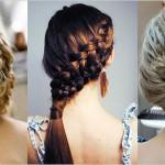 Simple French Braids Pretty Unique Braiding Hairstyles For Girls