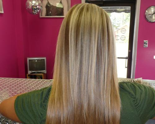 Sizzling Blonde Highlights