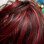 Spicy Black Hair Red Highlights For Ideas