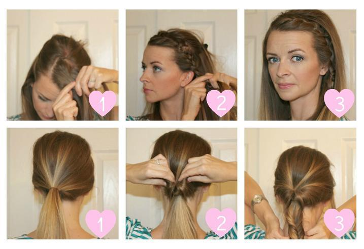 Step Easy Selfmade Hairstyles