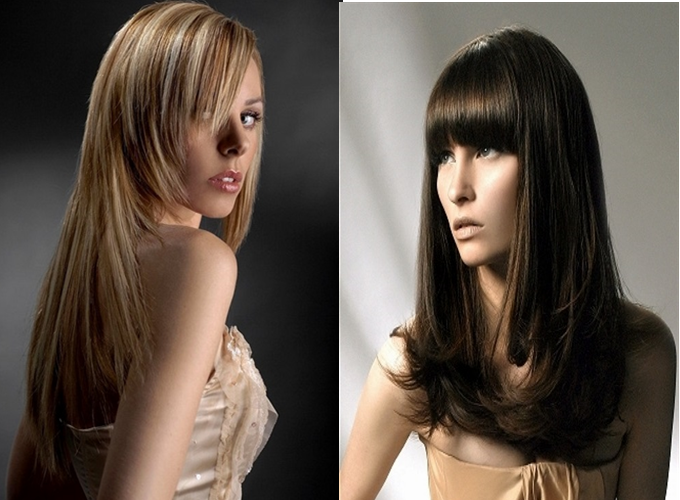 Step Long Layer Hairstyles