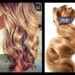 Strawberry Blonde Body Wave Hair Extensions
