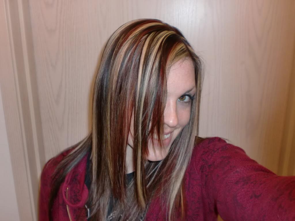 Strawberry Blonde Hair Highlights