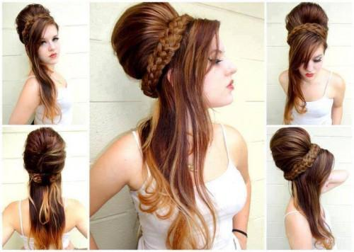 Stunning Women Hairstyle For Bridal Different Hairstyles Party