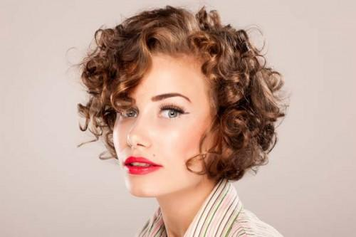 Style Curly Short Hair