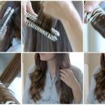 Summery Soft Flat Iron Curl Hair Tutorial