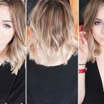 Sunday Ombre Bob Hairstyle Estilotendances
