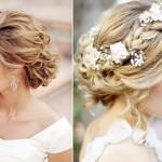 Sweet Bridal Updos Romantic Wedding Hairstyles Blond Brides Full